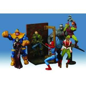 Marvel Select Best of Marvel Select Action Figures Set of 4 Toys