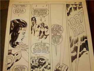 JACK KIRBY SUPER POWERS ART GREEN LANTERN WONDER WOMAN DR. FATE DC