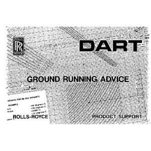 Royce Dart Aircraft Engine Ground Handling Manual Rolls Royce Books