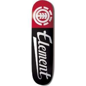 Element Make It Count Script 7.875 Inch Thriftwood Skateboard Deck