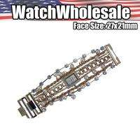 WHOLESALE ELEGANT CHARM MULTI STRAND BEADED BRACELET WATCH LDS2218RG