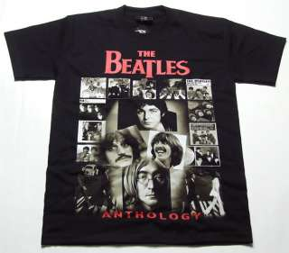 NEW RETRO VINTAGE JOHN LENNON BEATLES T SHIRT