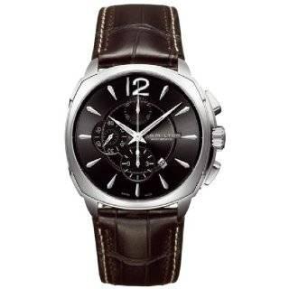 Hamilton Mens H36516535 Jazzmaster Black Dial Watch