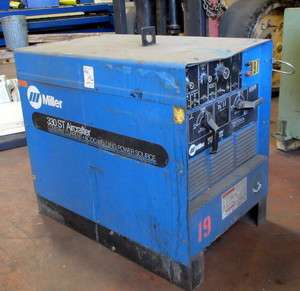 MILLER 330 ST Aircrafter Welder 300Amp Constant Current AC/DC Power