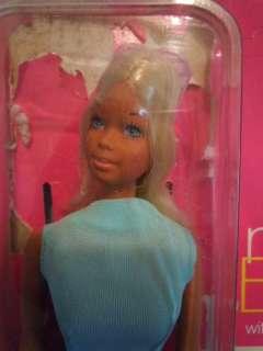 1970 Vintage Barbie Sun Set Malibu TNT w/ Card