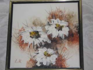 Lee Reynolds Burr Oil Painting Mid Century Modern 70s