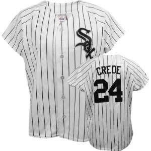 Joe Crede Majestic Replica Chicago White Sox Womens