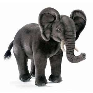 Hansa African Elephant Cub Stuffed Plush Animal Toys & Games
