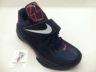 NIKE ZOOM KD IV KEVIN DURANT BASKETBALL SNEAKERS NEW MIDNIGHT NAVY