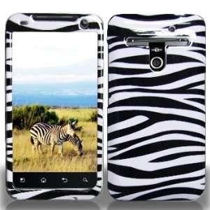 LG VS910 Revoluion 4G MS910 Eseem Black Whie Zebra Case
