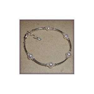 Sterling Silver LDS Missionary Mom Bracelet: Jewelry