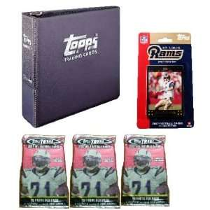 2007 Topps NFL Team Gift Sets   St Louis Rams Sports