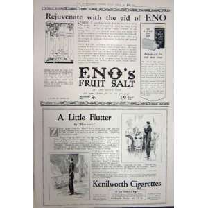 Advertisement 1922 Golden Guinea Wine EnoS Cigarettes: Home & Kitchen