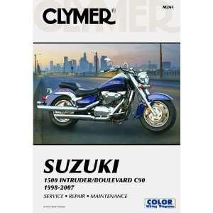 Suzuki 1500 Intruder Boulevard C90 98 07 Clymer Manual