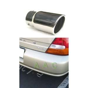 Stainless steel exhaust tip w/ mirror polish finish   Nissan Altima 93