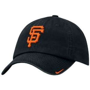 Nike San Francisco Giants Black Stadium Adjustable Hat