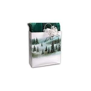 WINTER LANDSCAPE Medium Paper Gift Bags Set of 10