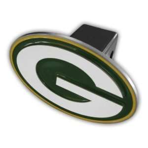 Green Bay Packers Logo Hitch Cover: Automotive