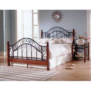 California King Fashion Bed Group Frisco Metal Poster Bed