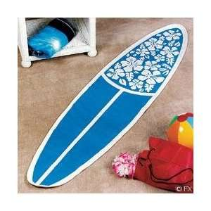 Surfboard Rug 71 x 17 Surfing Tropical Surf decor Home