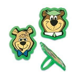 Yogi Bear Cupcake Rings   12ct Toys & Games