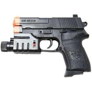 Spring Secret Agent Pistol FPS 100 Laser Airsoft Gun