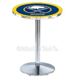 Buffalo Sabres NHL Hockey Chrome Pub Table L214