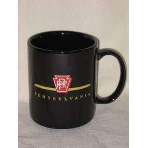 PPR Pennsylvania Railroad Railway Porcelain Collectors Cobalt Black