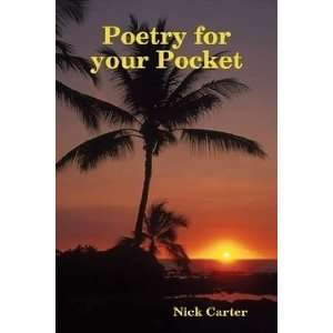 Poetry for Your Pocket (9781409245018) nick carter Books