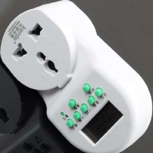 AU 3 Pin Plug Energy Saving Electrical Timer 220V 10A