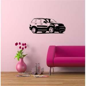 Wall Mural Vinyl Sticker Jeep Grand Cherokee SRT8 A978