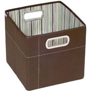 Way Basics zBoard Eco Storage Cube Plus 3 Shelf Storage Unit, Espresso