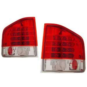 1994 2004 Chevy S10 KS LED Red/Clear Tail Lights Automotive