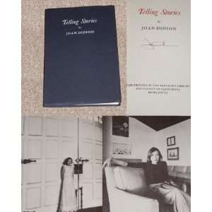Telling Stories Joan Didion Books