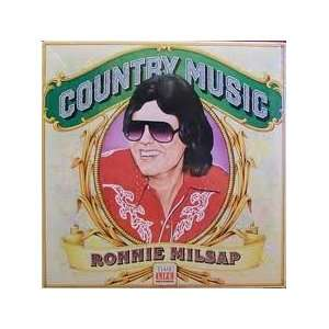 country music (TIME LIFE 110  LP vinyl record): RONNIE MILSAP: Music