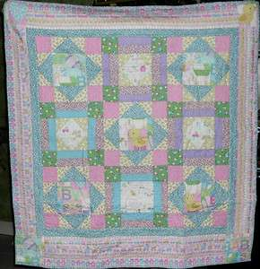 Fabric Quilt Kit   Sweet Dreams/Baby Talk by Benartex