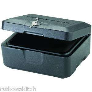 SentrySafe 0.15 Cubic Feet Black Fire Safe Security Box 049074006853