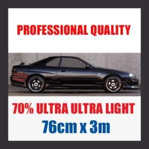 70% ULTRA ULTRA LIGHT CAR WINDOW TINT ROLL 76CMx3M