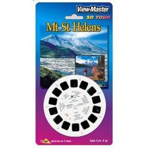 View Master 3D 3 Reel Card Mt St Helens Baby
