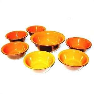 7 Piece Pasta Bowl Set