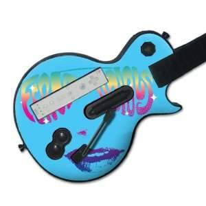 Music Skins MS FER20027 Guitar Hero Les Paul  Wii  Fergie