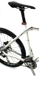 2011 ORBEA ALMA S 10 USA 26 Mtb XL Bike Carbon Fiber White Complete