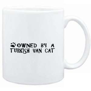Mug White  OWNED BY a Turkish Van  Cats