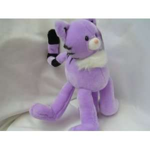 Cat Purple Plush Toy 15 Collectible