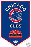 Chicago Cubs World Series Champions Banner Sign