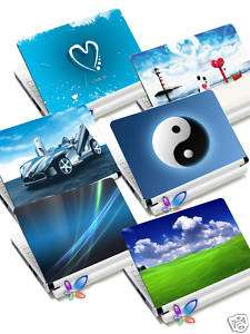 NETBOOK EEE MINI LAPTOP SKIN STICKER COVER DELL HP ACER GW TOSHIBA