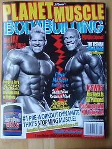 MUSCLE bodybuilding fitness magazine/Mr Olympia JAY CUTLER 1 11