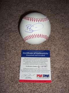 FEAR THE BEARD Brian Wilson San Francisco Giants Signed MLB Baseball