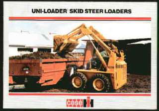 Case IH 1845C + Uni Loader Skid Steer Loader Brochure