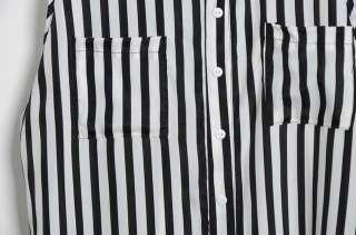 Womens Chiffon Shirt Stripes TANK TOP Cami Chiffon Sleeveless Tops